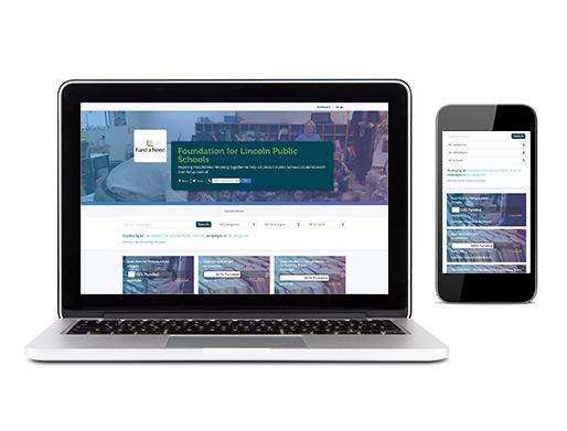 Fundraising Landing Page Image